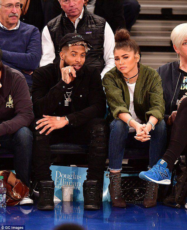 Are Zendaya And Odell Beckham Jr. Rekindling - One News ... |Zendaya And Odell Beckham Knicks