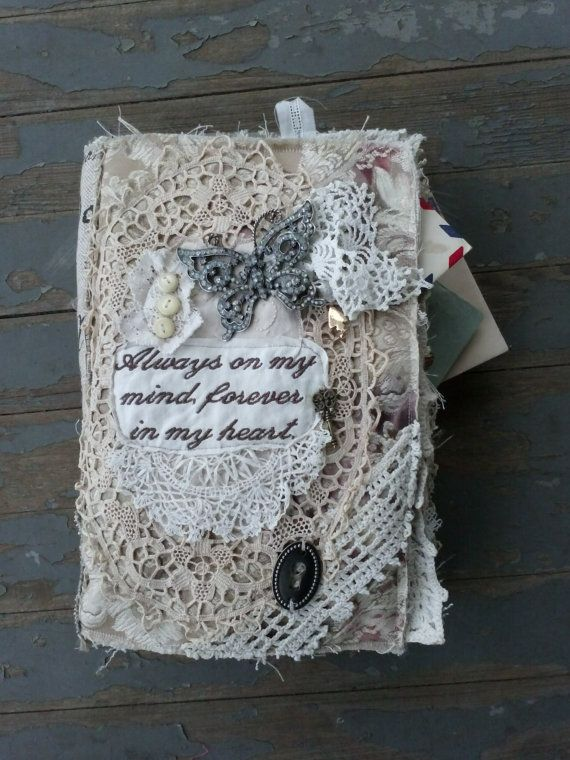 Fabric Lace Journal