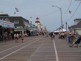 The Boardwalk in Ocean City NJ