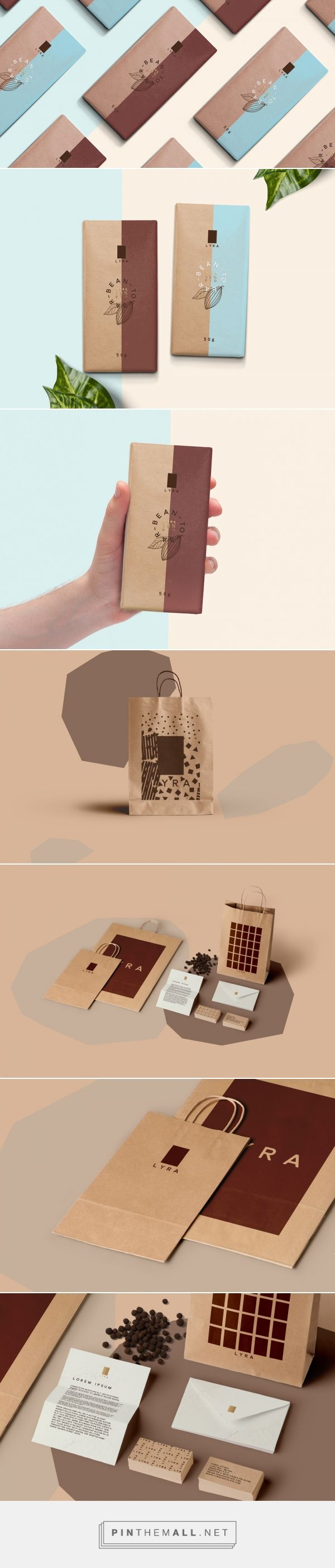 Lyra Bean-to-Bar Chocolate — The Dieline - Branding & Packaging... - a grouped images picture - Pin Them All