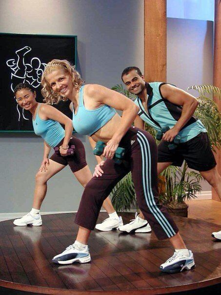 On The Set Of In Shape With Sharon Mann Media Resume Fashion Sports Resume