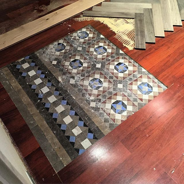 concerned about the existing floorings, paumats