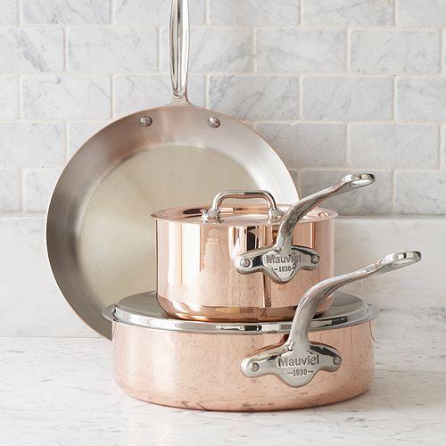 Mauviel Copper Saucepans