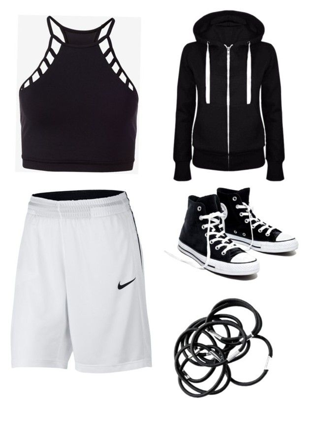 """Dance Practice"" by rand0mgirl1230 on Polyvore featuring NIKE, Express and Madewell"