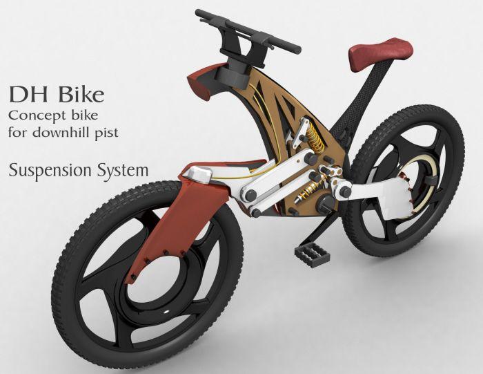 DH Bike, VTT futuriste