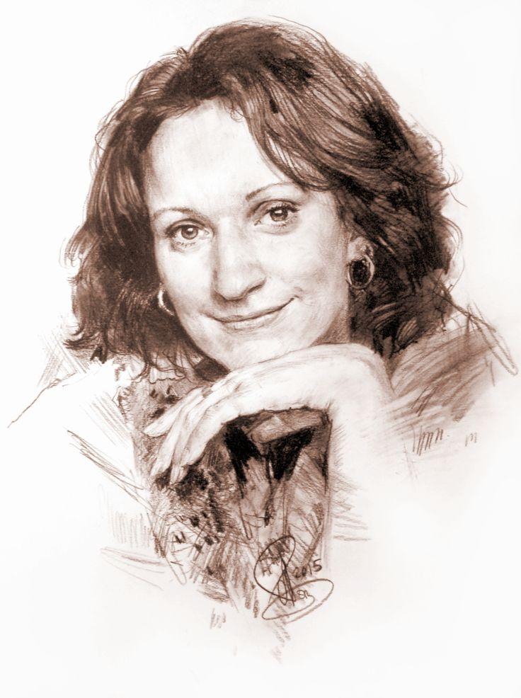 Женский портрет по фото - © Алексей Точин - Заказать Портрет по фото 1639