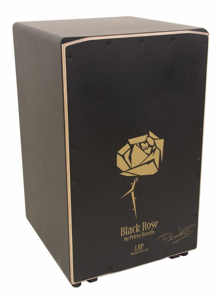 Cajón Flamenco La Rosa Black Rose Custom.