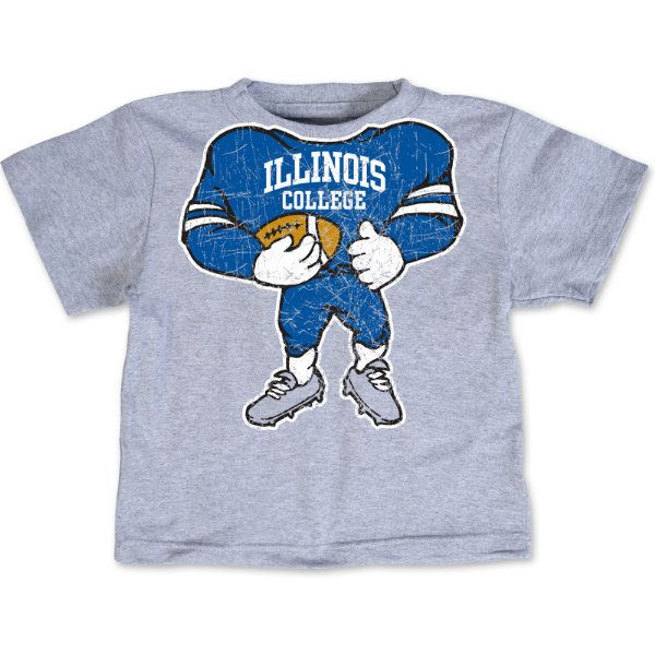 Illinois College t-shirt for little Blueboys!Illinois Colleges, Colleges Football, Colleges Tshirt, Colleges T Shirts