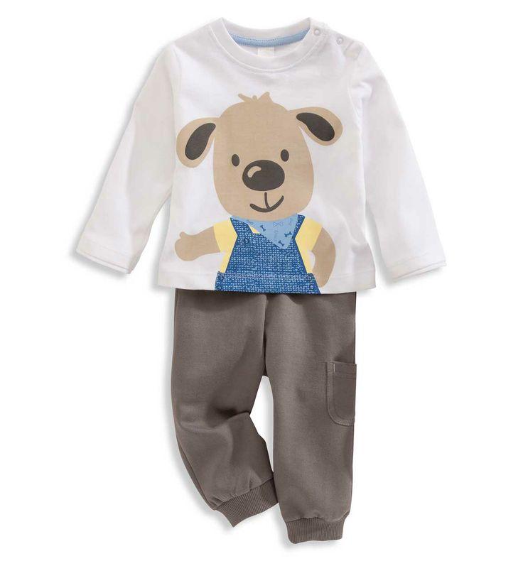 Bebés 0-2 años Conjuntos bebé en gris – los mejores precios en C&A