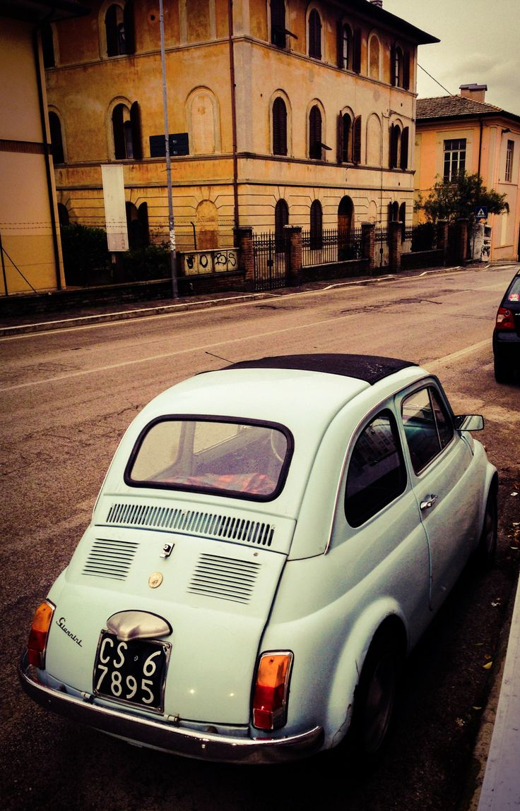Fiat 500 - what a beauty