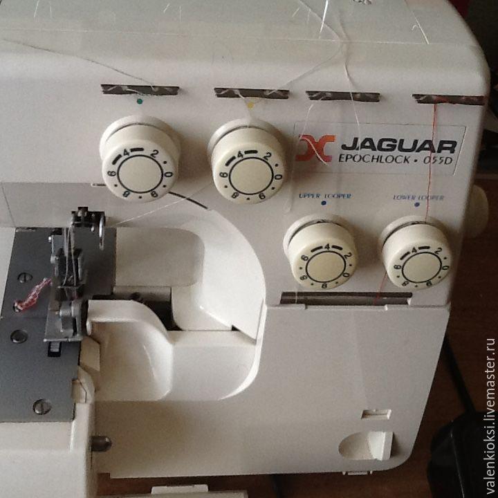 """Купить Овелог """"ягуар"""" 055d - белый, оверлок, Ягуар, шить, шитье, оборудование для шитья, бизнес"""