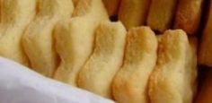 Biscoitinhos crocantes sem glúten e sem leite