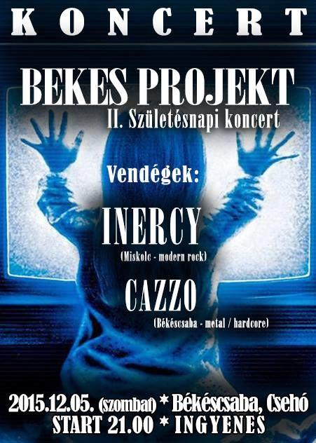 Plakat104.hu: Bekes Projekt II. Születésnapi Koncert