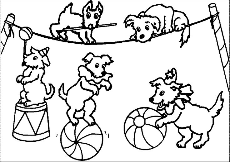 circus train coloring pages | Circus Coloring Pages | wecoloringpage | Preschool ...