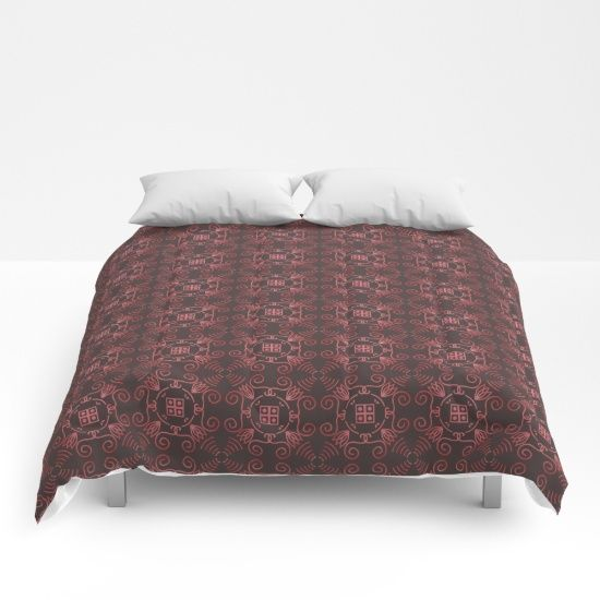 Romantic Pattern Comforters