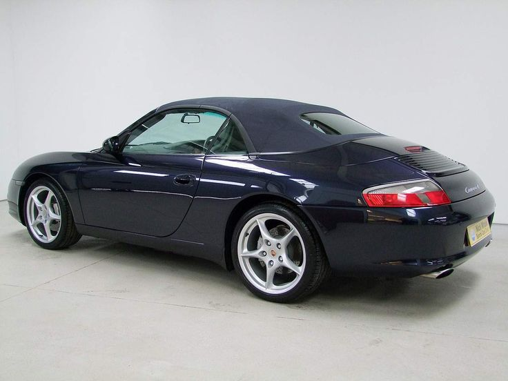 Porsche 911 (996) Carrera 4 Cabriolet with Hard Top. #porsche #911 #cars2003