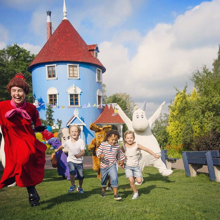 AuroraXplorer School Trip to Moomin World (Finland)