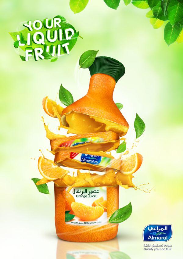 Your Liquid Fruit By Jeff Mouie Ramirez Via Behance 3d