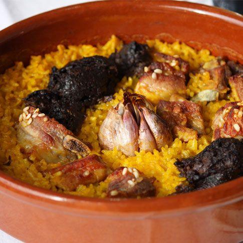 Arroz al horno, una receta fácil y tradicional de Valencia.. y mi plato favorito junto con el potaje de garbanzos de mi madre!