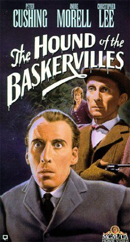 Besides the Hammer Dracula and Frankenstein films, TERENCE FISHER is best known for directing Peter Cushing and Christopher Lee in The Hound of the Baskervilles (also a Hammer film).