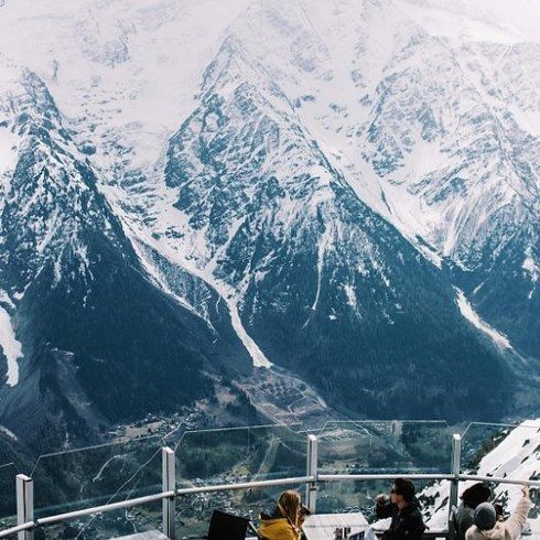Le Panoramic à Chamonix, en France.   Ces restaurants INCROYABLES vont vous faire haïr vos coquillettes au jambon