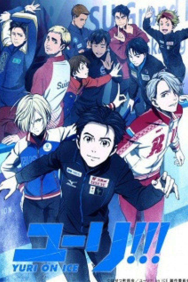 Yuri on Ice, Fall anime 2016, new anime 2016, upcoming anime 2016, sports anime, ice skating anime.