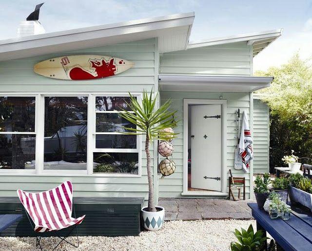 Coastal Vintage: beach huts