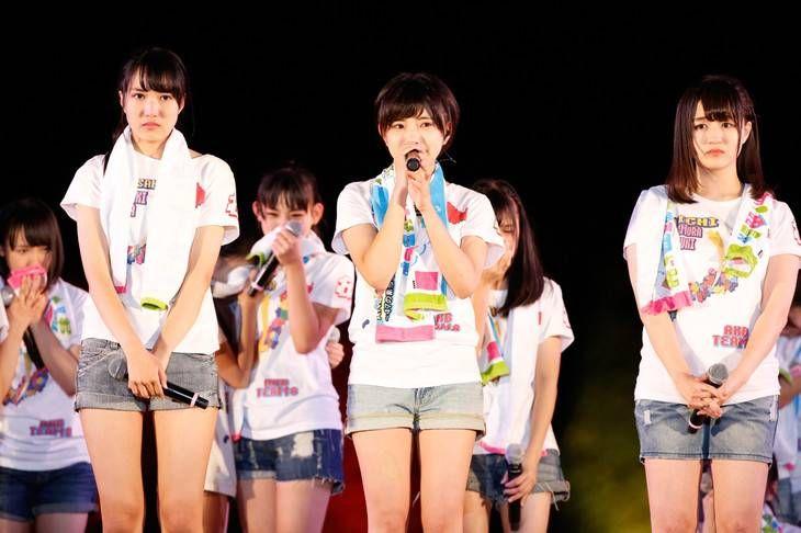Pengumuman kelulusan 3 member AKB48 Tim 8 ini diumumkan pada konser hari pertama Tim 8