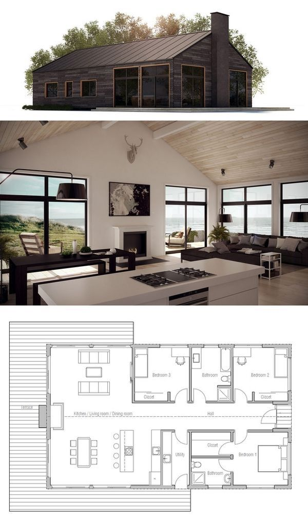 Cool House Cabin Plans House Interior