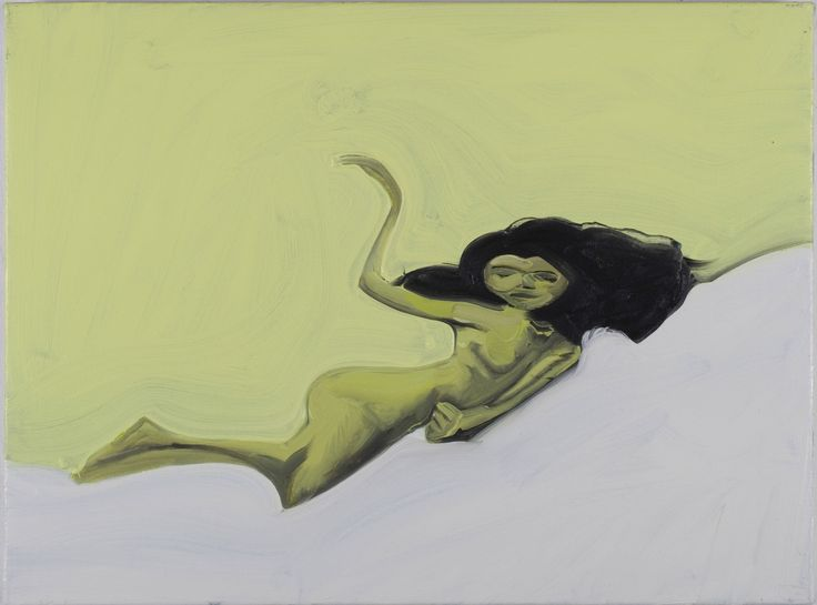 DAN COOMBS - Nude (3)  oil on canvas- 60 x 45 cm
