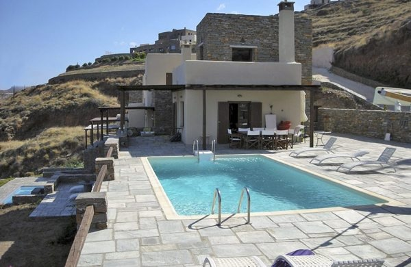 Modern villa on Kea Island - Greece
