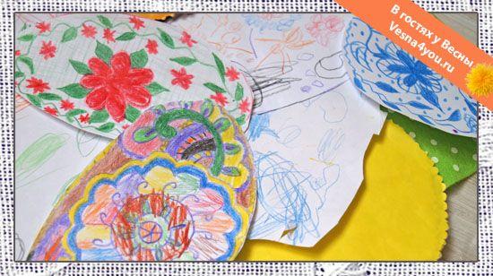"""Наше пасхальное творчество - Рисование и аппликации с детьми - Статьи блога """"В гостях у Весны"""" - В гостях у Весны"""