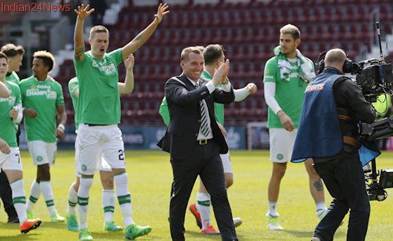 Brendan Rodgers signs for four more years Scottish giant Celtic