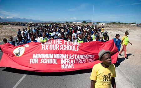 Equal Education's recent march in Khayelitsha drew about 2 000 learners from Cape Town schools.