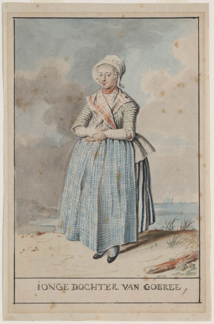 jonge dochter van Goeree kunstenaar: Hauck, Augustus Christiaan 1760-1801 #GoereeOverflakkee #ZuidHolland