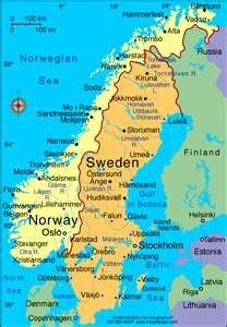 SCANDINAVIA | Northern Europe | Countries: Finland, Norway, Sweden, Denmark | Capitals: Stockholm, Oslo, Helsinki, Copenhagen
