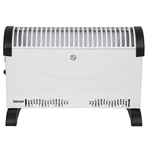 Igenix Convector Heater with Thermostat, 2000 Watt, White - Tec Ofertas UK
