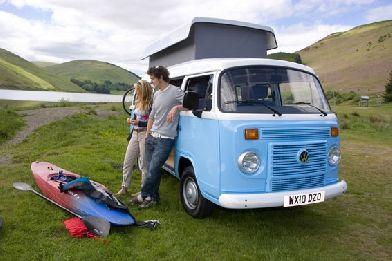 Classic Camper Hire, Scotland