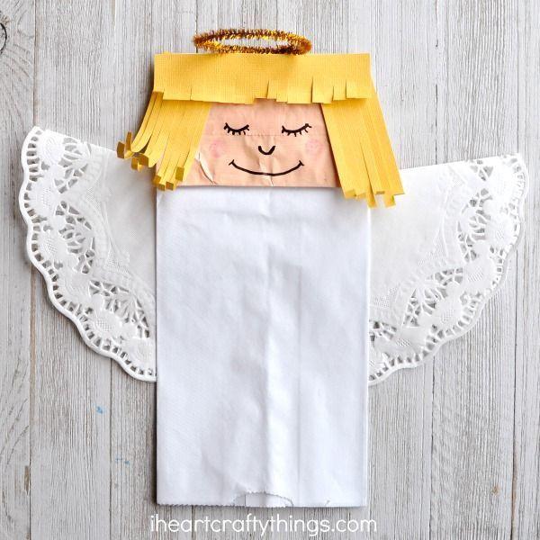 Angels Spoke To Mary And Joseph Preschool Craft