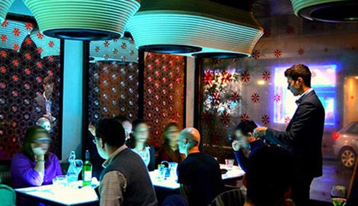Inamo - interactive asian fusion restaurant and bar
