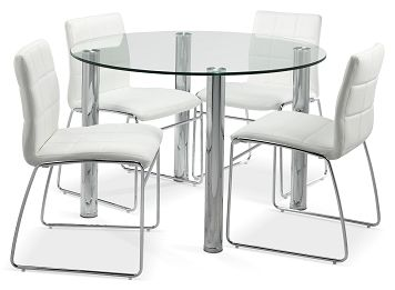 Casual Dining Room Furniture The Elaine II Collection Table