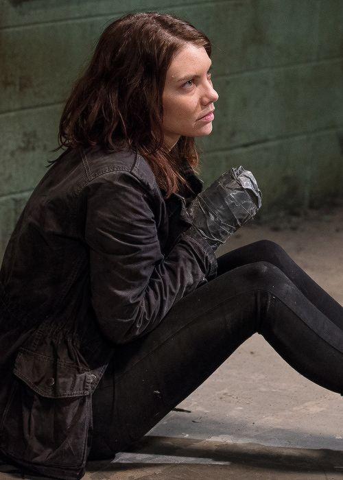 Maggie Greene dans The Walking Dead Saison 6 Episode 13 |  Le même bateau