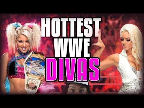 Hottest WWE Female Wrestlers / Superstars! (NEW 2017!) - YouTube