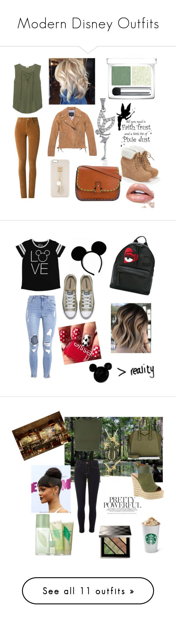 """""""Modern Disney Outfits"""" by gavanloud ❤ liked on Polyvore featuring Amapô, Splendid, RMK, JustFab, Marc New York, laContrie, Bling Jewelry, Iphoria, modern and Chiara Ferragni"""