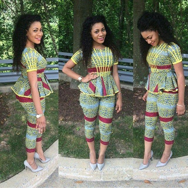 Gorgeous, Voguish & Exquisite Ankara Styles - Naija Wedding ~Latest African fashion, Ankara, kitenge, African women dresses, African prints, African men's fashion, Nigerian style, Ghanaian fashion ~DKK