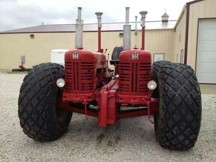Antique International Tractor Wheel : The garrett twin drive farmall pinterest
