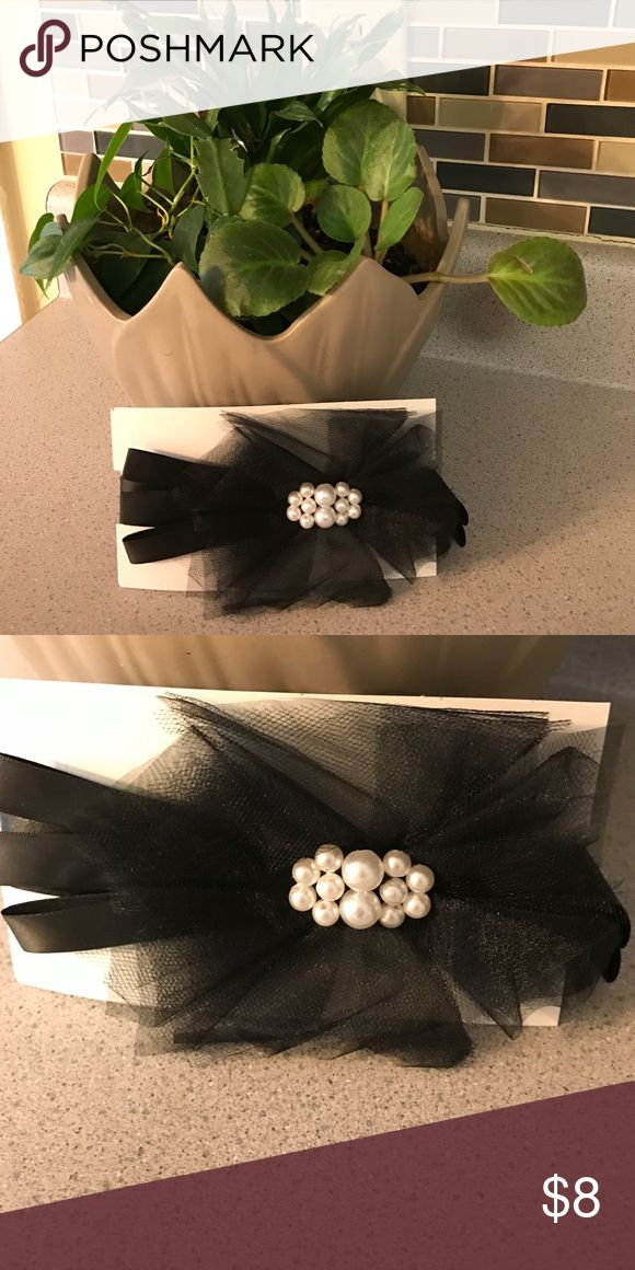 Celebrate Sash Black With Pearl, 60.6 in length. Perfect for weddings!! Celebrate It Accessories Belts
