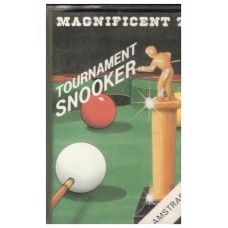 Tournament Snooker for Amstrad CPC from Magnificent 7 (MAG 7). 1986 snooker game that got a rating of 5/10 on the cpcgamereviews.com website. Complete in case. Very good condition. Tested and working. £5.00