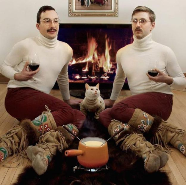 Ahhhhmmmaaazzzing!!! This gloriously retro family portrait. | 21 Amazing Christmas Cards You'll Wish You'd Sent