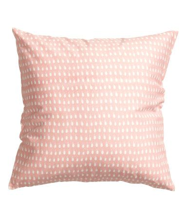 Sweet cotton cushion covers from H&M
